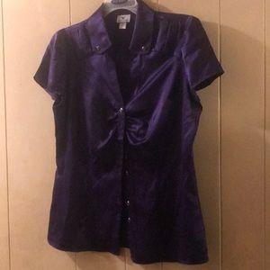 Silk dress shirt